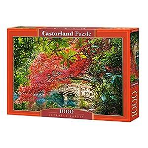 CASTORLAND Japanese Garden 1000 pcs Puzzle - Rompecabezas (Puzzle Rompecabezas, Paisaje, Niños y Adultos, Niño/niña, 9 año(s), Interior)