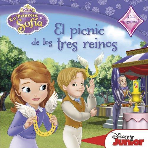 La Princesa Sofía. El Picnic De Los Tres Reinos. Cuento Con Pegatinas (La Princesa Sofia)