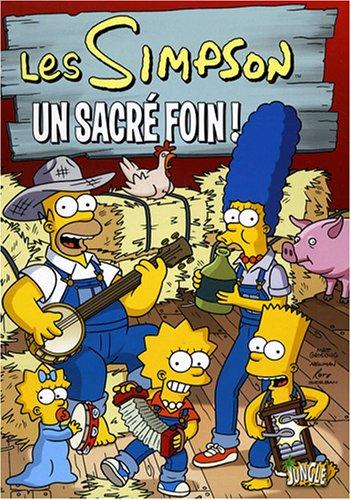 Les Simpson, Tome 2 : Un sacr foin ! : L'affaire du gilet ; Homer est presque maire
