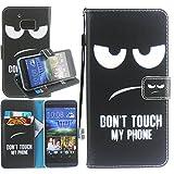 Dooki, HTC 10 Hülle, Ständer Brieftasche Flip Ledertasche