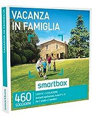 SMARTBOX - Cofanetto Regalo - VACANZA IN FAMIGLIA - Invitanti Agriturismi, Hotel 3* e 4*