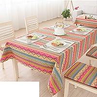 GXX tessuto tovaglia vento nazionale/Tavolino rettangolare tovaglia di lino/ cabinet asciugamano copertina/ Fresh tovaglia Bar-B 140x140cm(55x55inch)