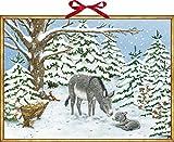 Wandkalender – Weihnachtsesel
