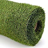 #9: Paramorasi 25mm Pile Height Artificial Grass High Density, Soft And Durable Plastic Turf Carpet Mat For Balcony, 45 Cm X 61 Cm - 1 Piece