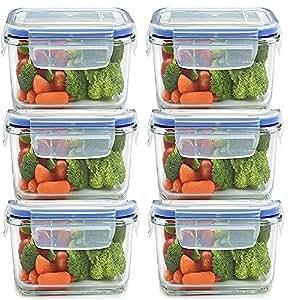 Buy jn store set of 6pcs plastic air tight square storage for Kitchen tool set of 6pcs sj