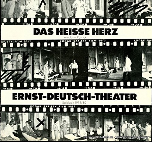 Programmheft Das heiße Herz von John Patrick. Premiere 24. April 1980. Spielzeit 1979 / 80 Heft 9 und 10 (Herz-ringer)
