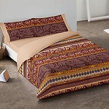 Burrito Blanco - Juego de funda nórdica 342 Beige, para cama de 150 x 190/200 cm.