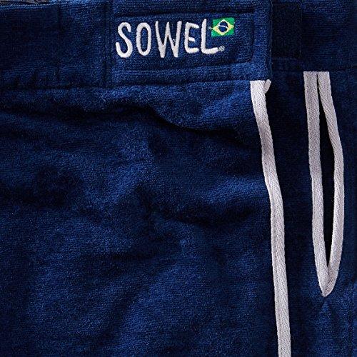 ... mehrere Sowel® Strandrock kurz für Damen, 100% Baumwolle mit  Klettverschluss, Seitentasche, mehrere ...