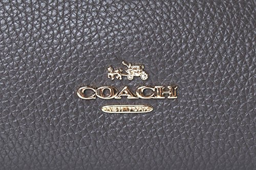 COACH Women's Mixed Leather Turnlock Chain Edie Li/Chestnut One Size