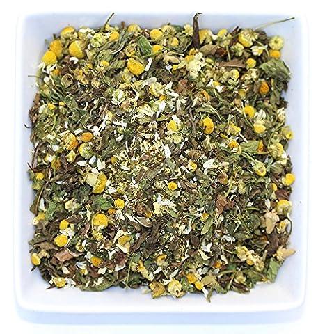 Chamomile & Spearmint - Calming & Relax Tea - Organic- Herbal Loose Leaf Tea - Caffeine Free - Tealyra (110g / 4oz)