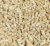 Jumbogras® Kleintier-Einstreu-Pellets 25 kg aus Miscanthus/Elefantengras/Chinagras für Hasen/Kaninchen, Maus, Vogel, Meerschweinchen, hochwertiger Stroh- u. Sägespäne-Ersatz für sauberen Käfig & Stall (25-kg-Karton)