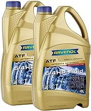 8 (2x4) Liter RAVENOL ATF 5/4 HP Fluid Automatikgetriebeöl Made in Germany