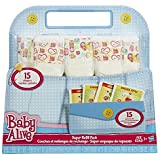 Baby Alive Doll Food and Diapers Super Refill Pack - 30 pieces by Buengna