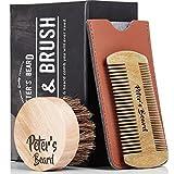 Best barba peines - Premium Cepillo de Barba y Peine de Barba Review