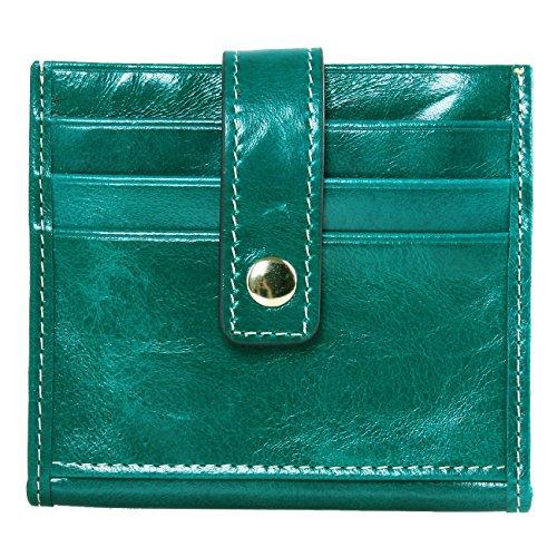 lh-saierlong-womens-bifold-credit-card-holder-green-wax-genuine-leather-wallets