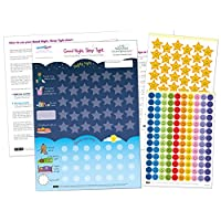 Good Night, Sleep Tight Reward Chart for 3 yrs+ - Award Winning - Create the Perfect Bedtime Routine for Your Child and Help Them Sleep At Night (420 x 297mm)