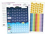 Good Night, Sleep Tight Reward Chart for 3 yrs+ – Award Winning – Create the Perfect Bedtime Routine for Your Child and Help Them Sleep At Night (420 x 297mm)