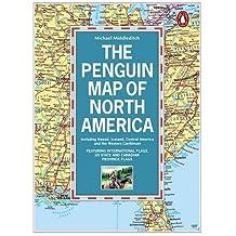 Penguin Map of North America