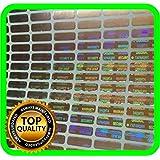 Holograma de seguridad de 1200etiquetas, VOID garantía pegatinas Tamper Evident Sellado de 12x 4mm