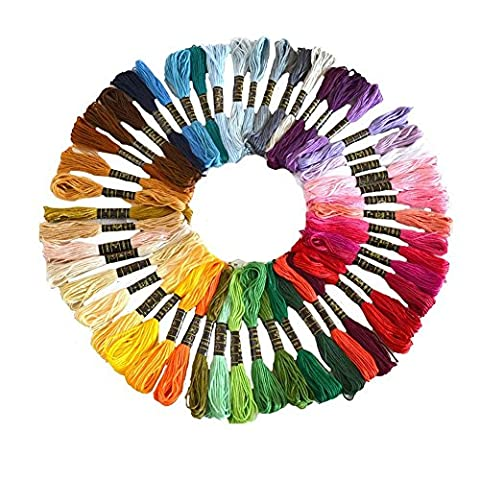 Cotton Embroidery Thread, Wartoon Cotton Embroidery Floss Sewing Thread Set