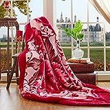 BDUK Die Decke Decken Dicke Warme Doppel raschelmaschinen Decke Decken die Studenten im Winter Decken Daunendecke,c,200x230cm Hochzeit 9 catties