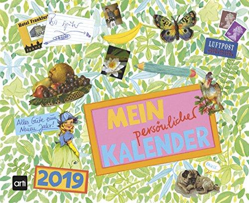 Gabi Kohwagner Mein persönlicher Kalender 2019 - Broschürenkalender, Kreativkalender  -  30 x 24,4 cm (Handwerk Mutter Tag Ideen Der Der)