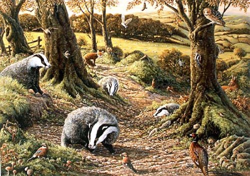 1000-piece-deluxe-jigsaw-puzzle-badgers-dell-in-woodland