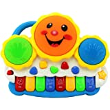 urban creation drum keyboard musical toys-Multi color