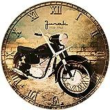 Wanduhr klassisches Motorrad - 'Junak'
