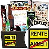 Rente | Geschenkset Männer | Geschenkset | Rente | Männer Paket | Geschenk für Rentenbeginn | inkl. DDR Kochbuch