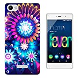 003323 - Neon mandala flowers Design Wiko Fever special
