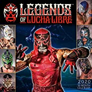 2020 Legends of Lucha Libre 16-Month Wall Calendar: By Sellers Publishing