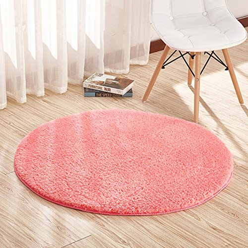 Tappeto rotondo, soggiorno, camera da letto, casa, tappeto, computer, sedia, cuscino, diametro 120 cm red