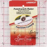 """Sew-Easy Patchwork Ruler Square 6.5"""" x 6.5"""""""