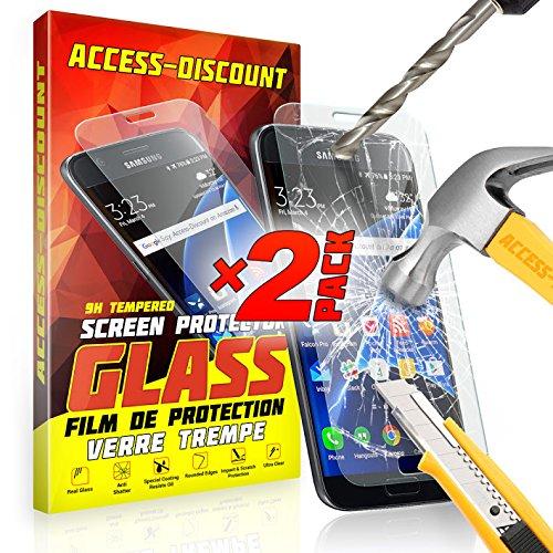 X2 FILM EN VERRE Trempé pour SAMSUNG GALAXY CORE PRIME SM-G360 SM G360