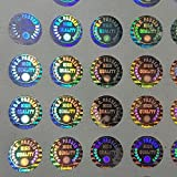 #8: HOLOMAX Hologram Stickers New Q.C.Passed Rounded 10mm (Pack of 14400 Stickers)