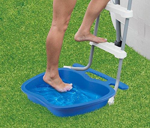 Summer Waves Fußwanne Fußbad für Pool Leiter Poolwanne Fußreinigung