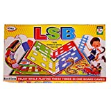 #10: GSI LSB 3 in 1 Ludo Snakes and Ladders Business Kids board game