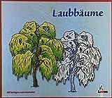 Laubbäume. Mit Vorlagen zum Ausmalen. Kanstanie - Pappel - Eiche - Buche - Ahorn - Linde - Birke - Weide - Ulme.