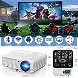 Vidéoprojecteur HD Projector 1080P Wirelss WiFi Bluetooth 3900 Lumens
