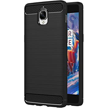 new arrival 13c2d f2094 AICEK OnePlus 3/ OnePlus 3T Case, Black Silicone Cover for One Plus ...