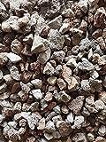 Der Naturstein Garten 25 kg Lava/Basalt-Mix 16-32 mm - grau/rot - Lieferung KOSTENLOS