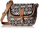 #7: Kanvas Katha Women's Sling Bag (Beige) (KKSLJQ011)
