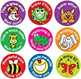 Sticker Solutions Effort and Praise Reward Stickers (Pack of 180)