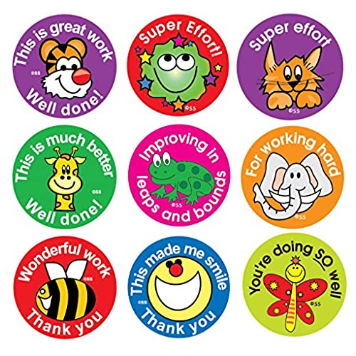 Sticker solutions effort and praise reward stickers pack of 180