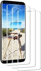 Yokimico [3 Stück Samsung Galaxy S9 / S8 Panzerglas Schutzfolie Displayschutzfolie Gehärtetem Glas 9H Härte Ultra Transparenz für Samsung Galaxy S9 / S8