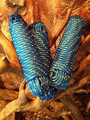 Nº 9Azul rocío de 8mm x 30m, cuerda de polipropileno (, polipropileno Cuerda, Barco Cuerda, ancla cuerda, amarre, cuerda multiusos, toldo de rocío, más utilizar con cuerda, Barco stau, punto, para cuerda