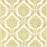 20 kleine Cocktail Servietten Muster gold / Hochzeit / Fest / Feier 25x25cm