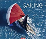 Sailing. Wandkalender 2020. Monatskalendarium. Spiralbindung. Format 55 x 46 cm
