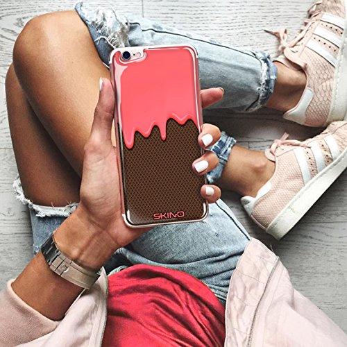 Skino™ Skin 3D Anti-Gravità Custodia Case Cover Hands-Free Selfie Resina Gel Ultra Sottile Antiurto per iPhone 5 / 5s / 5 SE / 6/6 Plus / 6s / 6s Plus / 7/7 Plus Anti-Scratch Slim riutilizzabile Prote CL-5